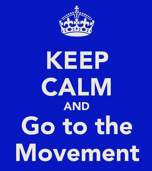 You are the movement
