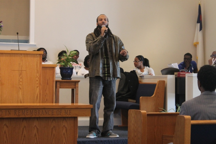 last apostle ministering spoken word at Gethsemane Baptist Church in Greenville, SC