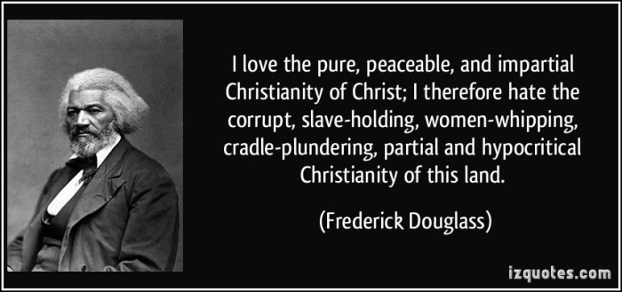 fredrick dougless christ