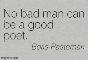 good poet