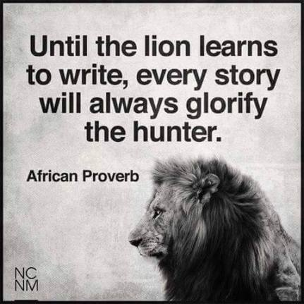 lion speaks