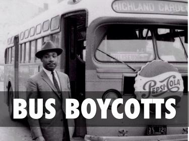 bus boycotts