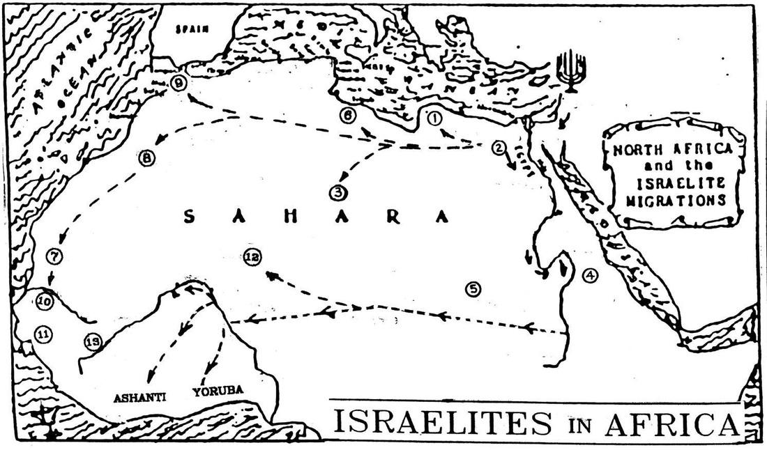 israelite map